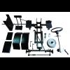 Комплект для переоборудования мотоблока в мототрактор №2 (гидравлическая тормозная система)
