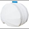 Емкость белая для перевозки пищевой воды КАС 240 х 210 х 172 см, 5000 л