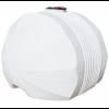 Емкость белая для перевозки пищевой воды с крышкой клапаном 240 x 210 х 172 см, 5000 л