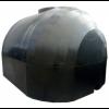 Емкость черная двухслойная, для перевозки пищевой воды с крышкой клапаном 250 х 212 х 180 см, 6000 л