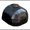 Емкость черная для перевозки с крышкой клапаном 240 х 214 х 150 см, 5000 л