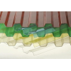 Профилированный монолитный поликарбонат Borrex 0,8 мм, размер листа 1050х3000 мм, цветной