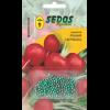 Редис Ранний красный (100 дражированных семян) -SEDOS